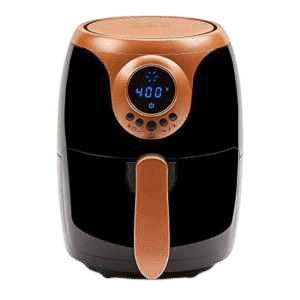 6 Top Rated Air Fryers-for One Person-Copper Chef Air Fryer 2 QT