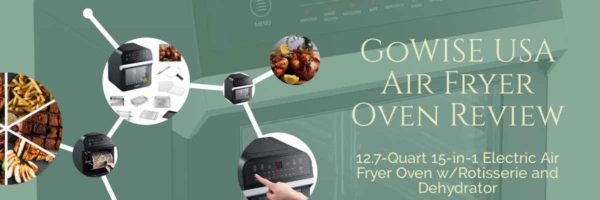 GoWISE USA Air Fryer Oven Featured Image