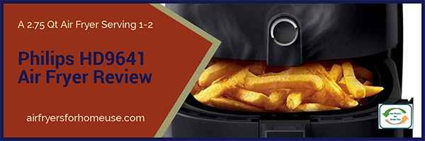 Philips HD9641 Air Fryer Featured Image